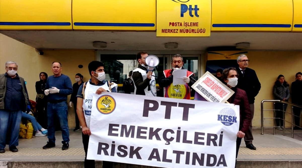 PTT çalışanları: Şubeler kapatılmalı, sadece merkezlerden işlem yapılmalı!