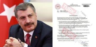 Sağlık Bakanı fahrettin Koca gizli belge açıklaması: Gerçek dışıdır!