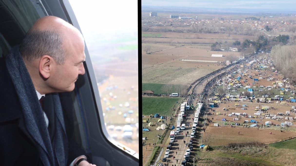 süleyman Soylu: Yunanistan sınırına 1000 Özel Harekatçı gönderdik