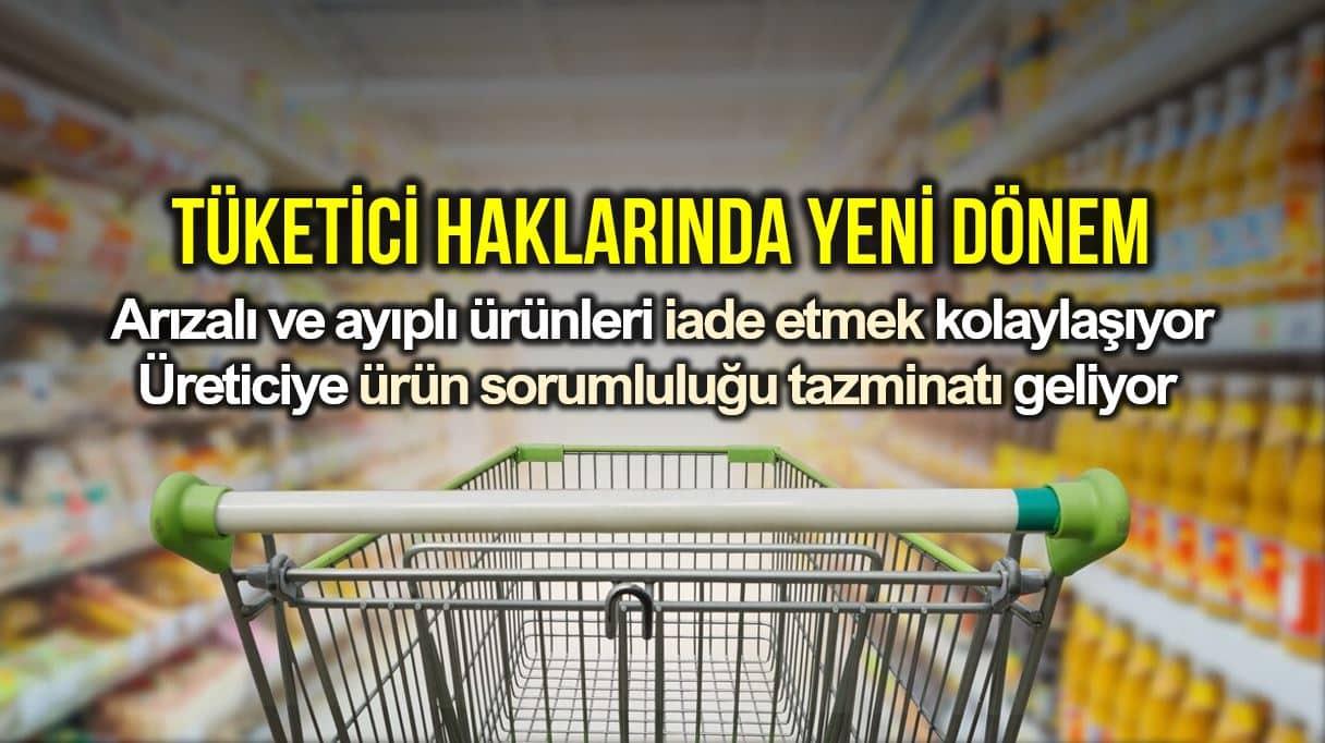 Tüketici haklarında yeni dönem: Ürün iade kolaylaşıyor!