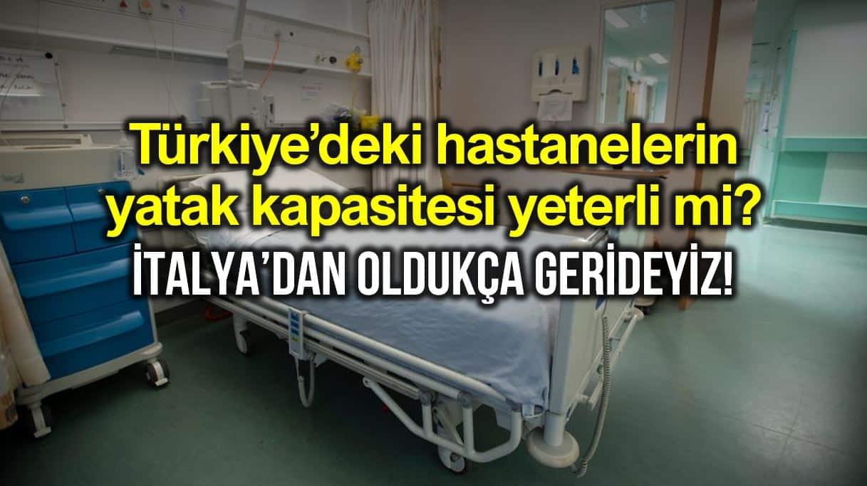 Türkiye'de hastanelerin yatak kapasitesi yeterli mi?