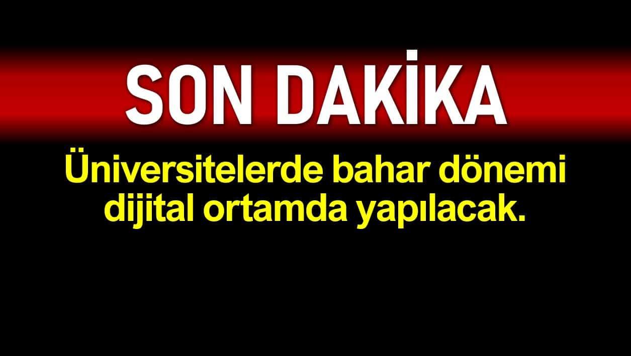 YÖK Başkanı Yekta Saraç tan üniversiteler ve YKS açıklaması