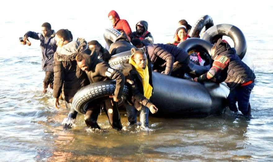 göçmenler ege