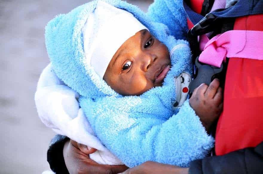mülteci bebek ege istanköy