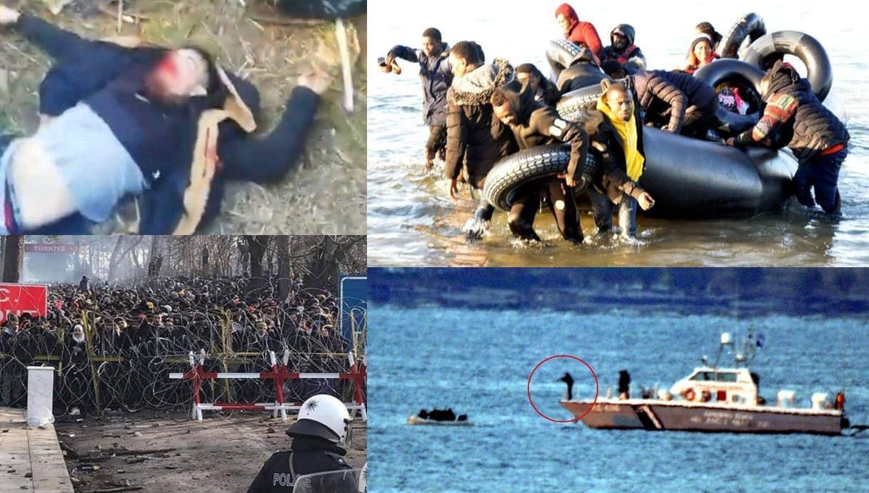 Yunanistan sınırında ilk mülteci ölümü: Dehşet verici görüntüler geliyor!