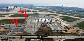 Atatürk Havalimanı pistleri kırılarak kullanılmaz hale geldi!