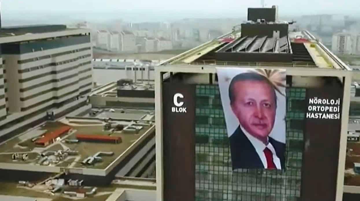başakşehir şehir hastanesi erdoğan