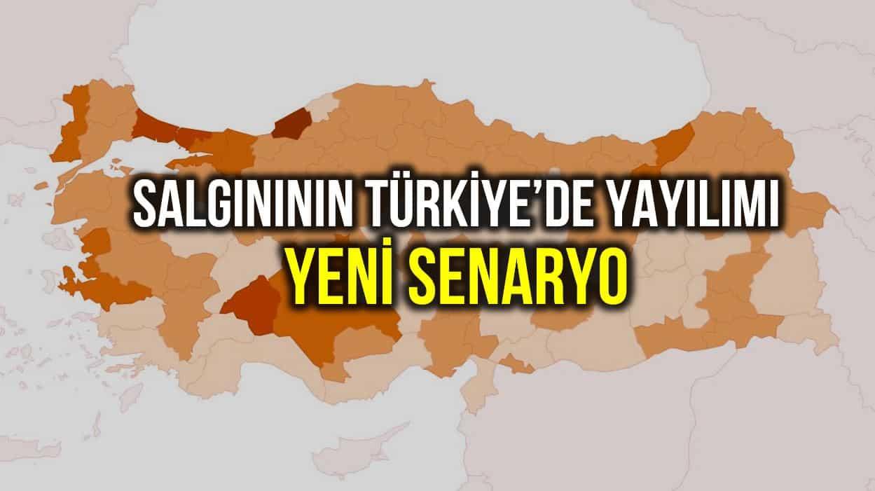 Corona salgınının Türkiye'de yayılımına dair yeni senaryo!
