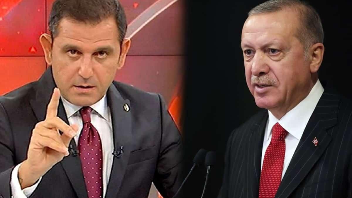 Cumhurbaşkanı Erdoğan dan Fatih Portakal hakkında suç duyurusu