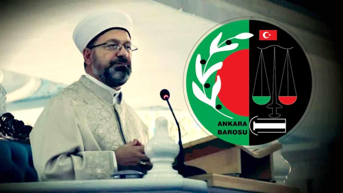 Ankara Barosu na Diyanet soruşturması