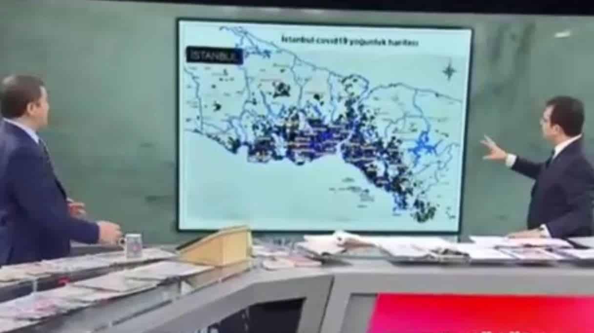 Ekrem İmamoğlu İstanbul da corona yoğunluğu olan ilçeleri açıkladı