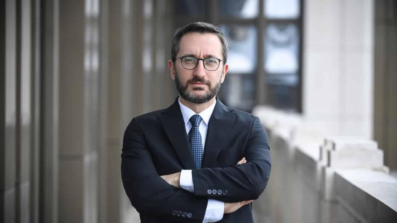 Fahrettin Altun: Erdoğan gibi bir lidere sahip olduğumuz için gerçekten çok şanslıyız