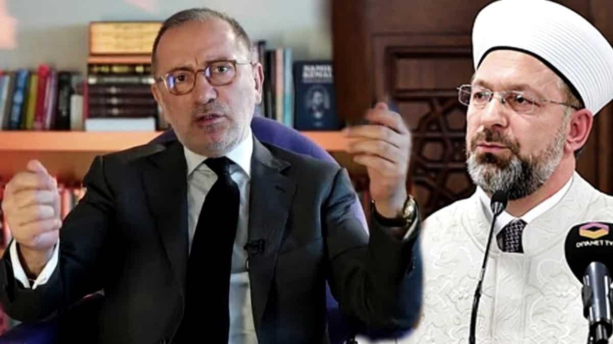 Fatih Altaylı dan Diyanet e: Lanetlenen eşcinsellerden de vergisini almayın o zaman