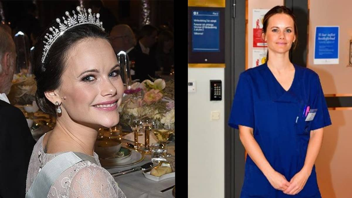 İsveç Prensesi Sofia gönüllü hasta bakıcı olarak hastanede çalışıyor!