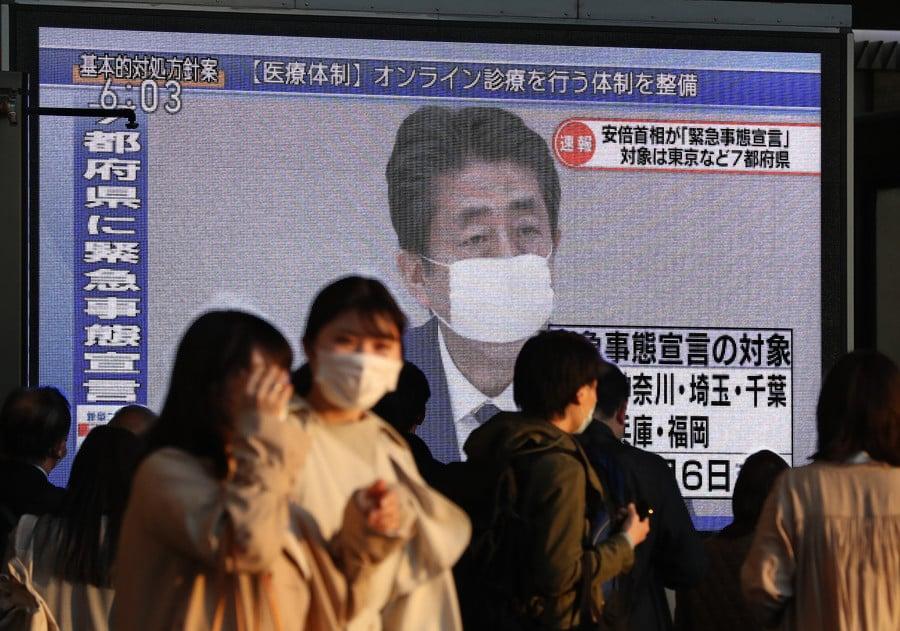 Japonya'da corona virüsü nedeniyle 7 vilayette acil durum ilan edildi