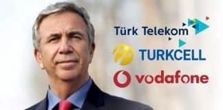 Mansur Yavaş Turkcell, Vodafone ve Türk Telekom çağrı: Fiyatı indirin