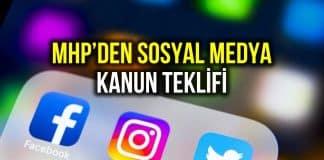 MHP den sosyal medya kanun teklifi: Kimlik numarası isteme zorunluluğu