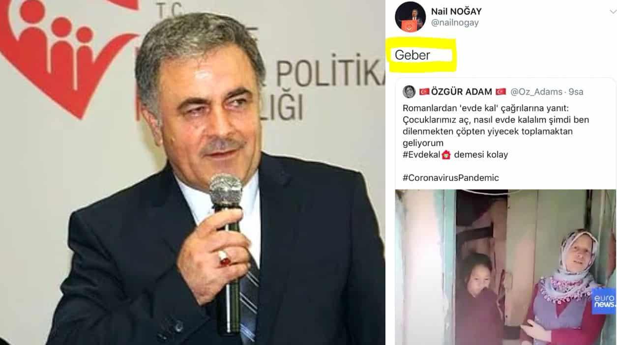 """Çocuklarımız aç, nasıl evde kalalım diyen vatandaşa """"Geber"""" diyen Aile Bakanlığı bürokratı Nail Noğay görevden alındı"""