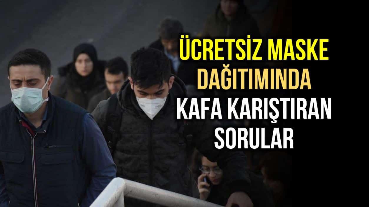 14 bin PTT kargo personeli milyonlarca ücretsiz maske dağıtımını nasıl yapacak?