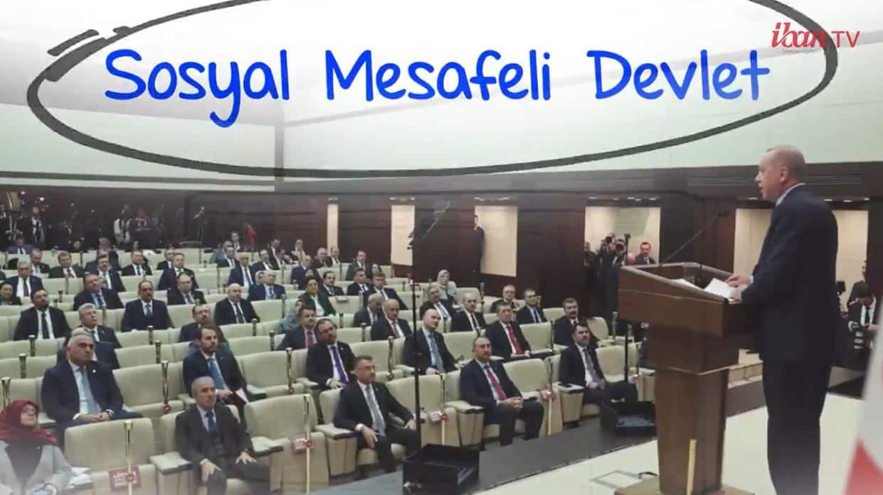 Saadet Partisi AKP yi IBAN TV de eleştirdi: Sosyal mesafeli devlet!