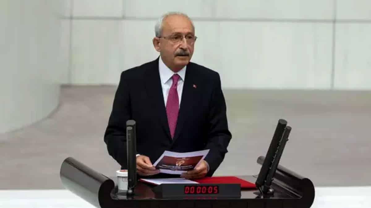TBMM 100. yıl özel oturumu: Kılıçdaroğlu yeni anayasa çağrısı