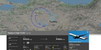 TK1920: THY 23 Nisan 100. yılı için özel uçuş türk hava yolları