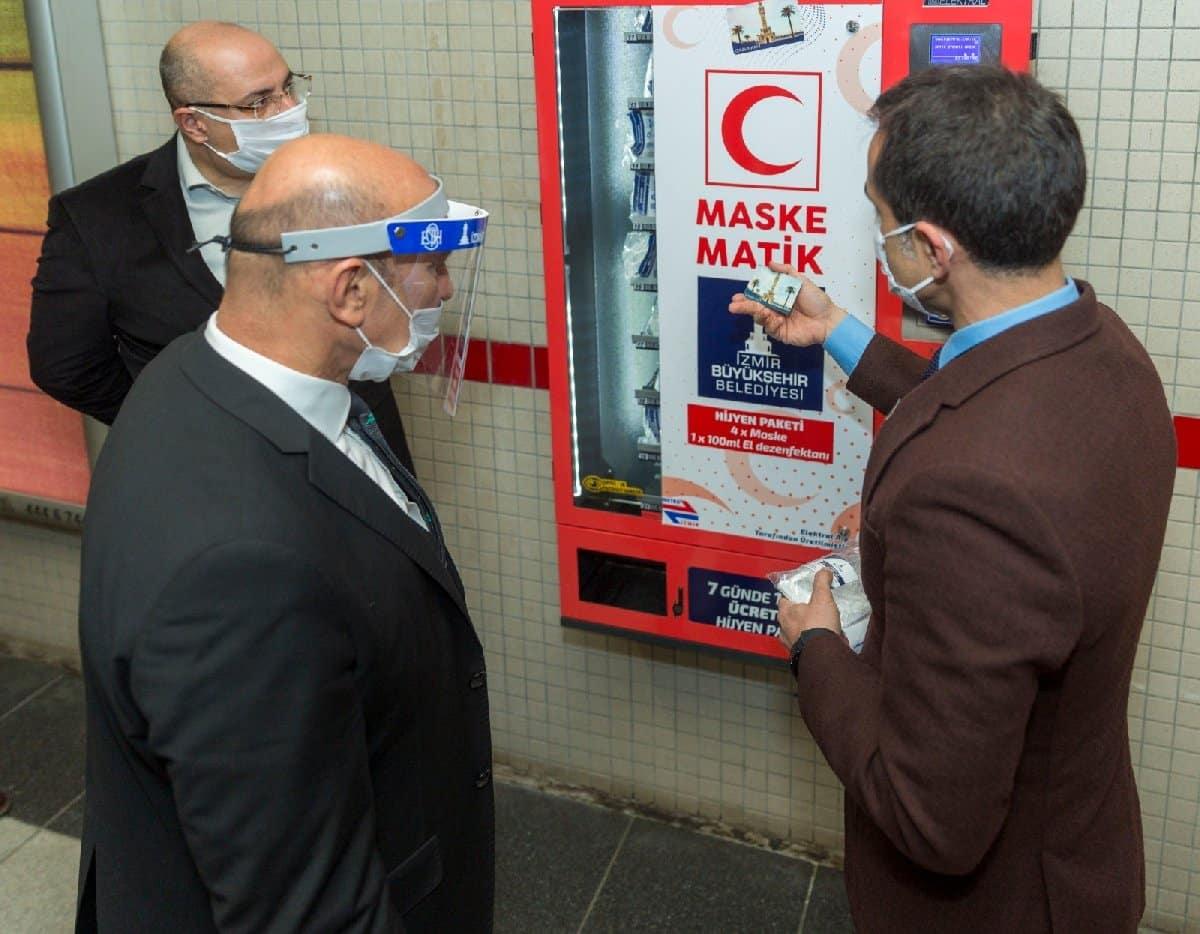 izmir metro maskematik