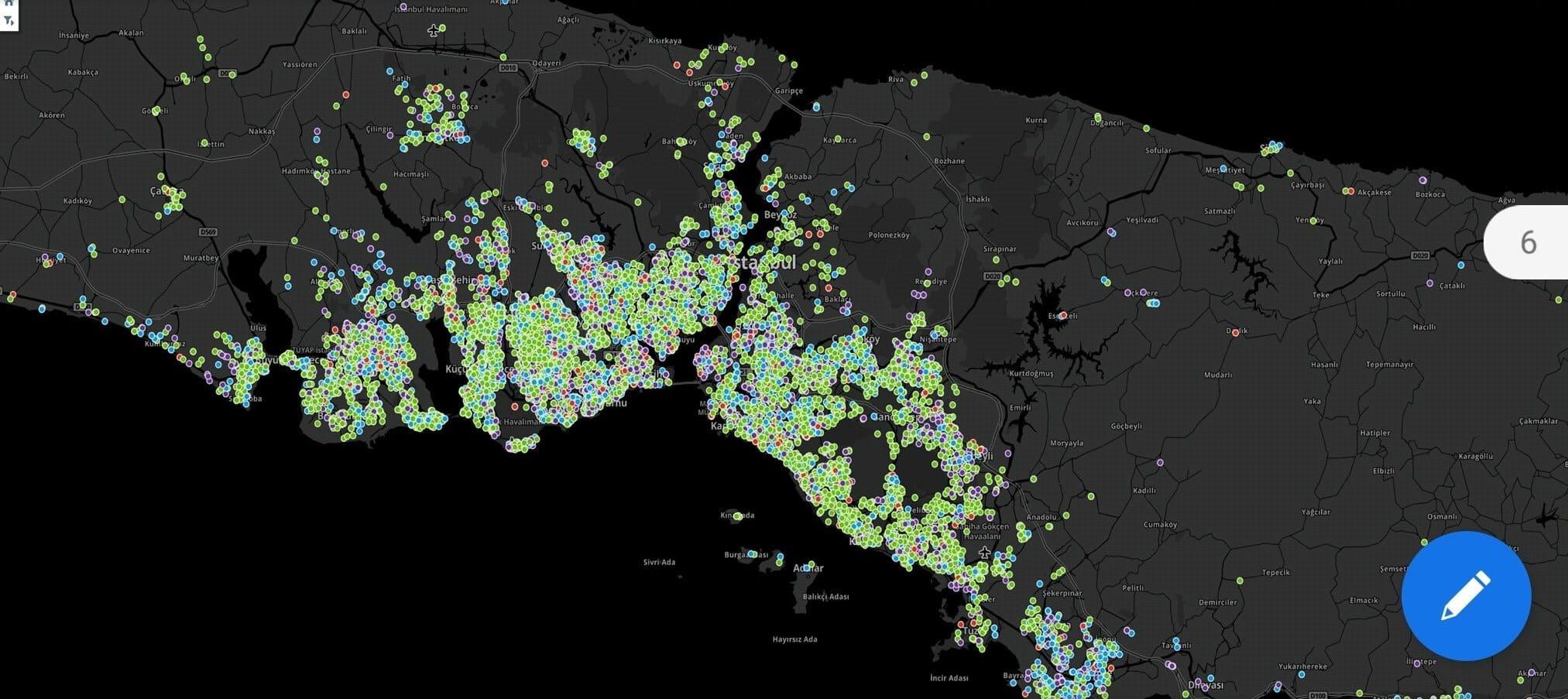 Türkiye detaylı corona virüsü yayılım haritası paylaşıldı istanbul