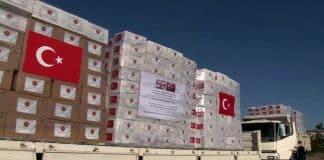 Türkiye, İngiltere ye askeri kargo uçağı ile tıbbi yardım gönderiyor