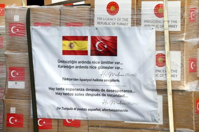 türkiye ispanya italya tıbbi yardım malzemesi mevlana sözleri