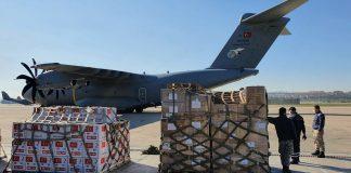 Türkiye gönderdiği sağlık malzemeleri Somali ye ulaştı