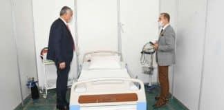 CHP Zeydan Karalar açtığı Adana Sahra Hastanesi mühürlendi