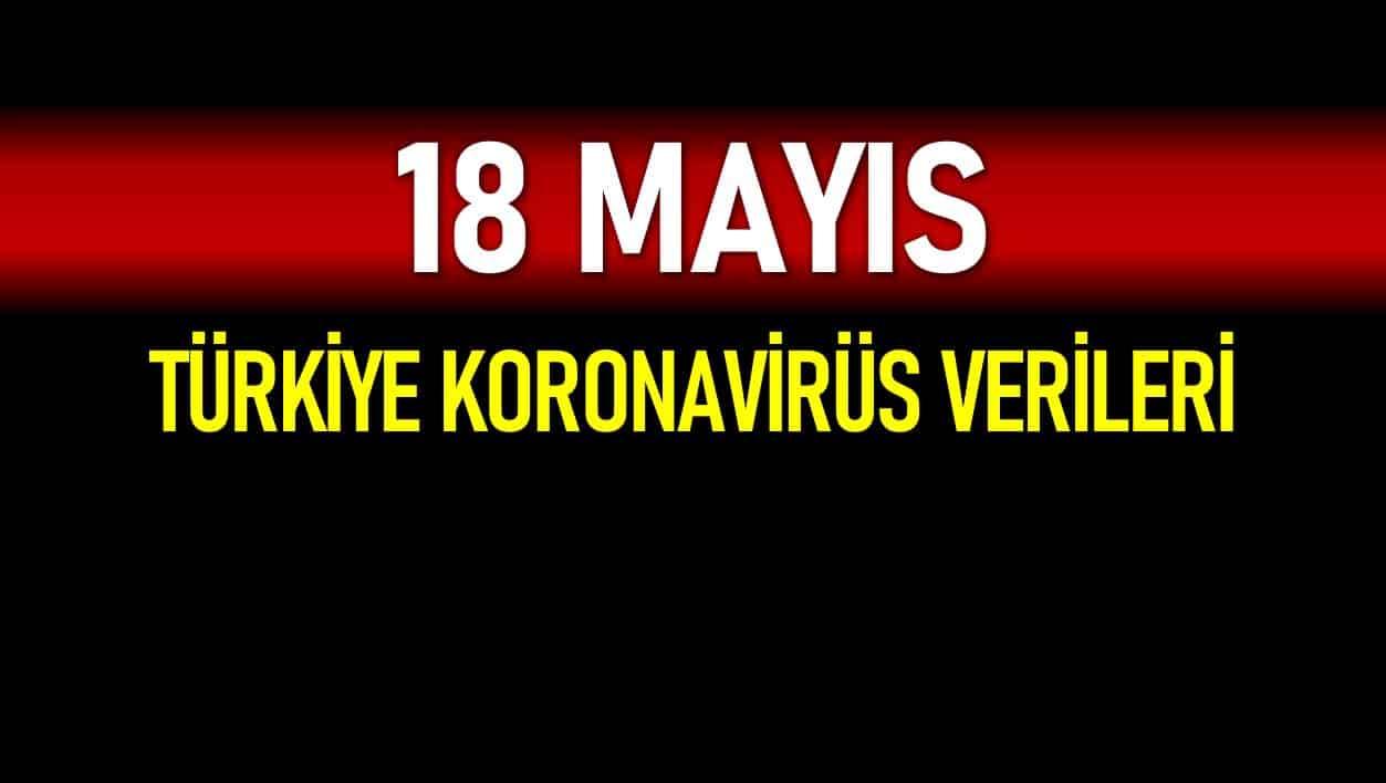 18 Mayıs Türkiye koronavirüs verileri açıklandı!