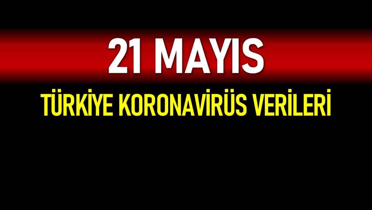 21 Mayıs Türkiye koronavirüs verileri açıklandı!