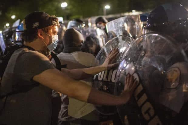 ABD George Floyd protestoları son görüntüler