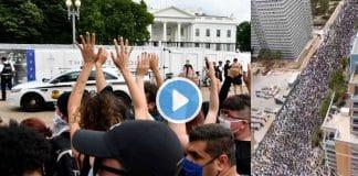 ABD George Floyd protestoları son görüntüler video