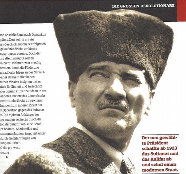 almanya history life dergisi kapak atatürk