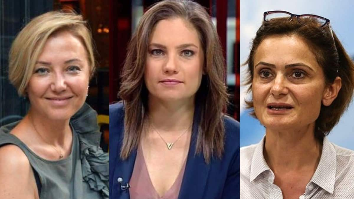 Berna Laçin, Nevşin Mengü, Canan Kaftancıoğlu yönelik iğrenç sözlere tepki