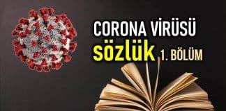 Corona virüsü sözlük - 1. Bölüm