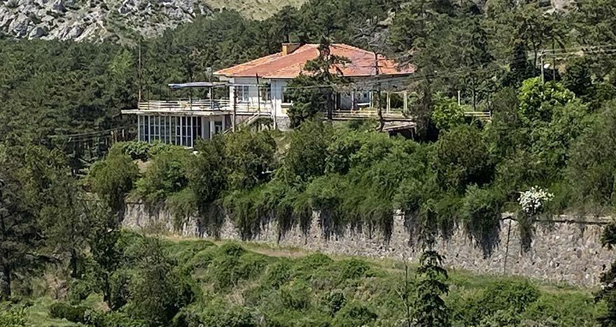 çubuk barajı atatürk evi