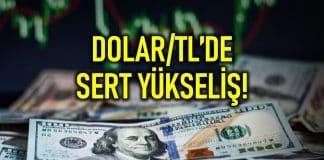 Dolar/TL kuru 7,08 i aştı ve tarihi zirvesine yaklaştı!