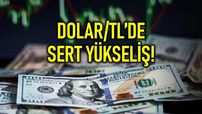 Dolar/TL kuru 7,09 u aştı ve tarihi zirvesine yaklaştı!
