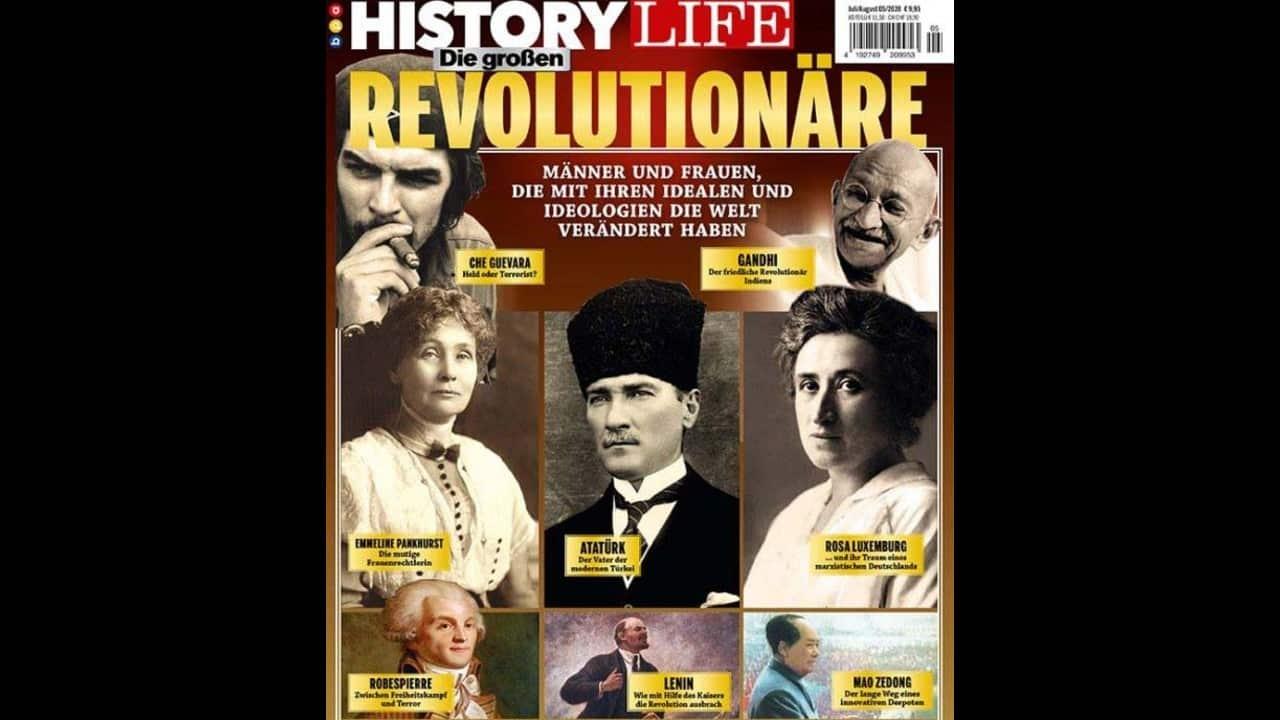 History Life dergisi kapağında Atatürk: Sarsılmaz bir Cumhuriyet yarattı