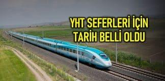 Hızlı tren (YHT) sefeleri için bilet satışı HES kodu ile sadece internet üzerinden yapılacak