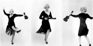 Marilyn Monroe ukulele