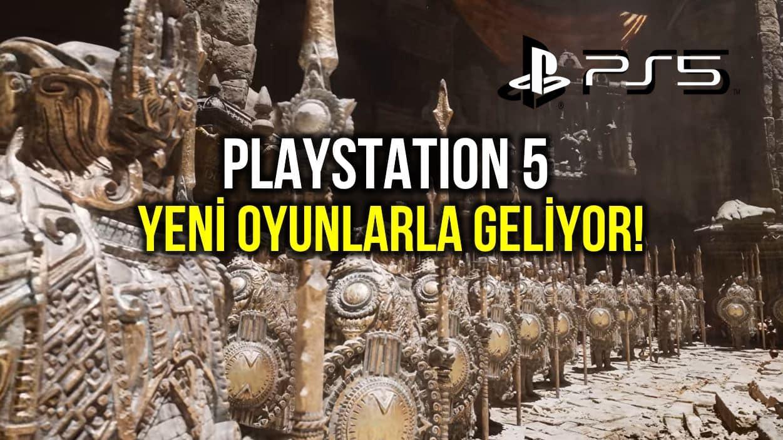 Playstation 5 (PS5) oyun konsolu için yeni oyunlar belli oldu!