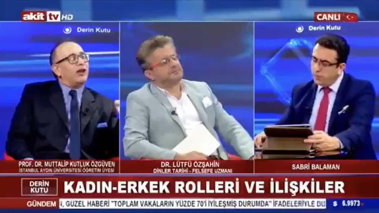 Skandal açıklamaların sahibi Prof. muttalip kutluk Özgüven in görevine son verildi