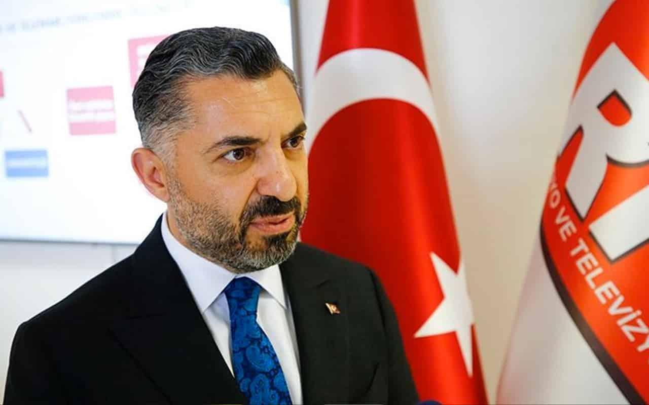 RTÜK Başkanı Ebubekir Şahin haber sunucularına yorum yasağı uyarısı