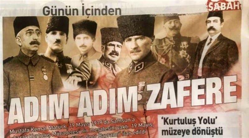 sabah gazetesi atatürk vahdettin damat ferit