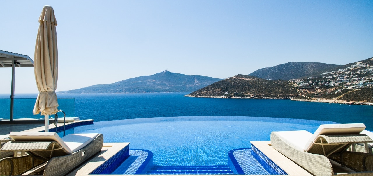 Sıfır temaslı tatil: Kalkan ve Kaş antalya kiralık lüks villalar revaçta!